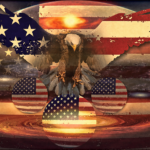 U.S.A. *Song for Freedom* ^the Eagle flies High^